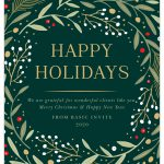 How to Finish and Send Your Holiday Cards